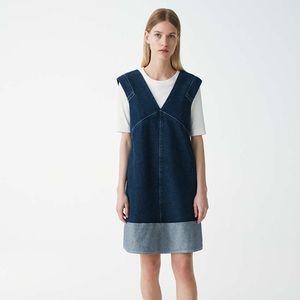 NWT/ COS denim A line Dress/ Size 6